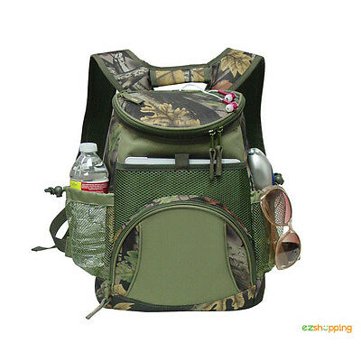 Outdoor Lightweight Tablet Camping Hiking Picnic Camo Cooler Backpack G7722