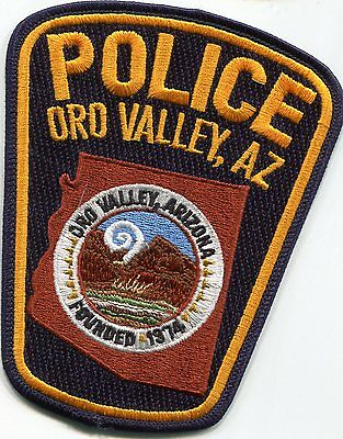 Oro Valley Arizona Police Patch