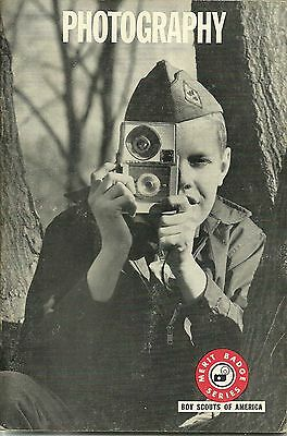 Boy Scout - 1966 Merit Badge Book - Photography