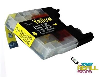 Remanufactured LC75Y Ink Cartridge for the Brother MFC-J6710DW MFC-J6510DW
