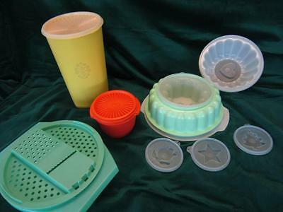 Assorted Lot Of Vintage Tupperware