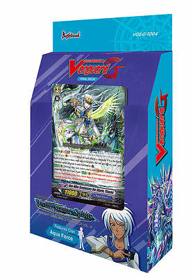 Cardfight!! Vanguard G-TD04 Blue Cavalry of the Divine Marine Spirits Trial Deck