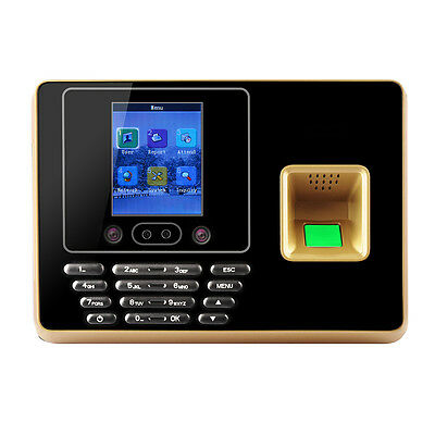 New 2.8 inch Face Recognition + Fingerprint Attendance Machine USB U disk TCP/IP
