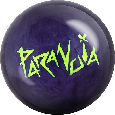 Motiv Paranoia Bowling Ball Multiple Hook Reactive 12-16 lbs with free Cleaner