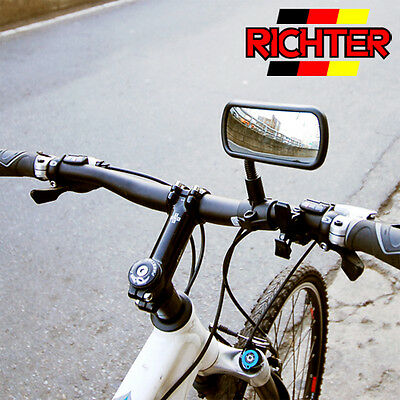 HR 10411101 Angle Adjustable Auto Bike Bicycle Rear View Convex Curved Mirror