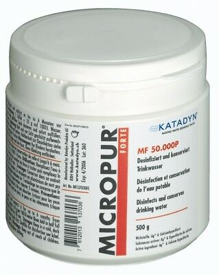 Micropur Forte - 50.000 P, 500 g Powder