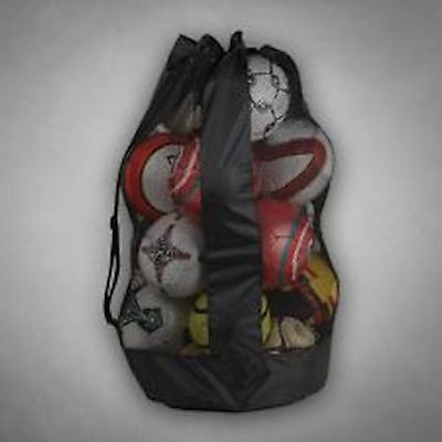 Ball Carry Bag holds 12 - 14 balls in colour black