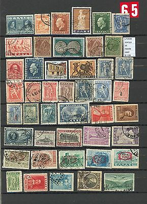 Stamps Lot Greece Used  (L10599)
