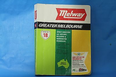 Melway Edition 18 From 1988