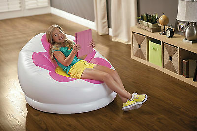 Intex® Inflatable Chair Indoor Outdoor Kids Unisex Room Lounge Camping Gaming UK