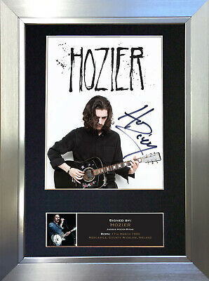 HOZIER Signed Autograph Mounted Photo Repro A4 Print 567