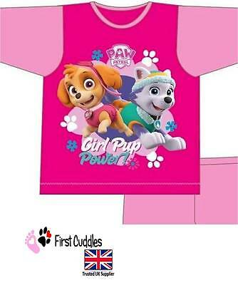 "Girls Kids Nickelodeon Paw Patrol Skye And Everest Pyjamas Pj's ""Pup Power"""
