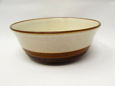 Potter's Wheel Rust Red by Denby-Langley Coupe Cereal Bowl Rust Red Center b134
