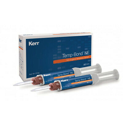Kerr Tempbond NE Automix Temporary Cement Temp Bond 2 Syringes