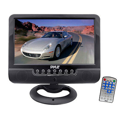 New PLMN9SU 9'' Battery Powered TFT LCD Monitor with MP3/MP4/USB SD Card Player