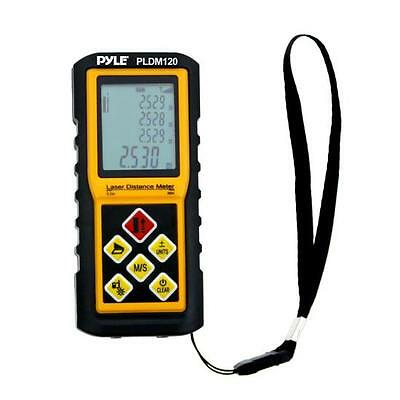 NEW Pyle PLDM300 300 Ft. Handheld Laser Distance Meter Volume & Area Measuring