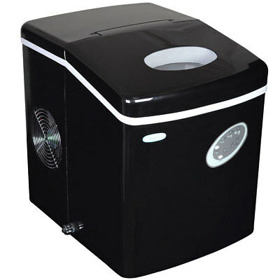 NewAir AI-100BK 28-Pound Portable Icemaker in Black