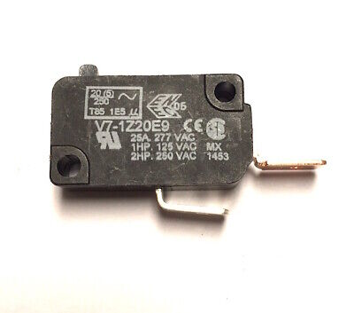 "25A Micro Switch - Normally Open Snap Action Switch - .250"" Connects"