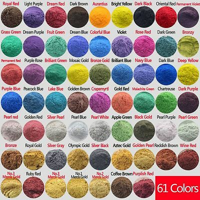 50g Cosmetic Grade Natural Mica for Makeup/Soap/Bath Bombs/Eyeshadow/Lipsticks