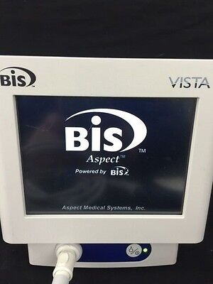 Aspect Medical Bis Vista Bispectral Index Monitor with Module, Cable, Warranty!