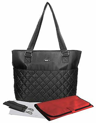 Bellotte Classic Tote Satchel Diaper Bag (Red or Black)