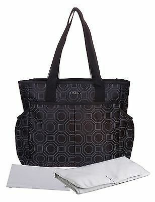 Bellotte Amber Baby Diaper Bag Mommy Tote - Black