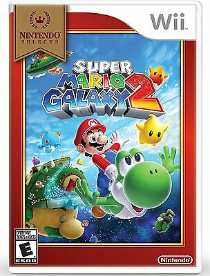 Super Mario Galaxy 2 - New Sealed - Nintendo Wii Game