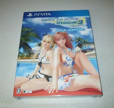 Dead Or Alive Xtreme 3 Venus Collector's Edition PS Vita Japan Import FREE SHIP