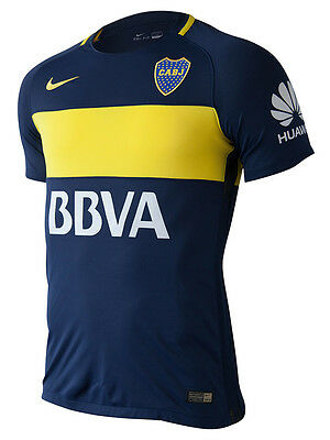 BOCA JUNIORS maillot PLAYER ISSUE 2017 *MATCH* Domicile NIKE