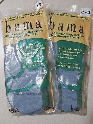 Bama socks style no. 84-305 Rubber Boot Liners