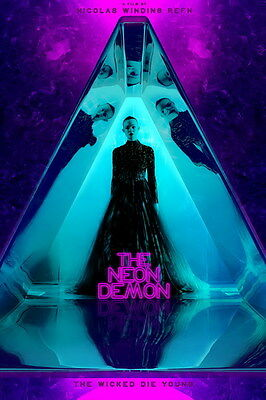 "031 ELLE FANNING - THE NEON DEMON Beauty Hot Movie Actress Star 14""x21"" Poster"