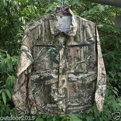 Summer men's fishing hunting bionic camouflage long-sleeved Top and Pants set
