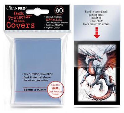 Ultra Pro Small Size Deck Protector Sleeve Covers  - 60 Sleeves Yu-Gi-Oh