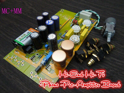 Douk Audio HiFi MM+MC Phono Pre-Amplifier LP Vinyl Tube Phono Stage Preamp Board