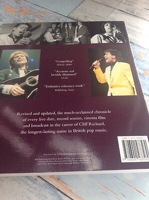 Cliff Richard Book The Complete Chronicle Updated Edition Paper Back New