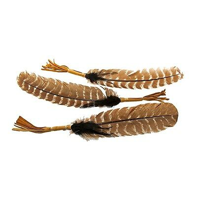 "Native American Indian Eagle Imitation Smudging Feather Approx 10""-12"""