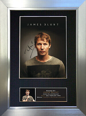 JAMES BLUNT Signed Autograph Mounted Photo Repro A4 Print 397
