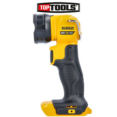 DeWalt DCL040N 18v XR Li-ion LED Torch / Light Naked - Body Only