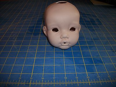 """Porcelain Doll head, Mikey head, 5"""", by Cindy Rolfe"""