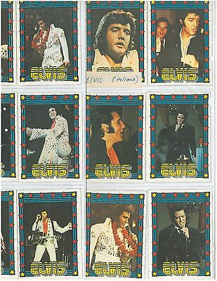 48 Different Elvis Presley Trading Cards from Holland! ESTATE FIND!