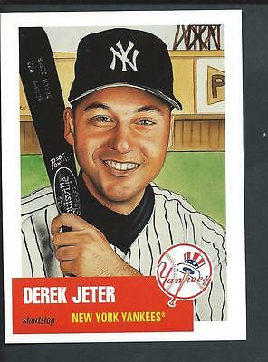 TOPPS Derek Jeter NY Yankees by James Fiorentino/Goodsportsart