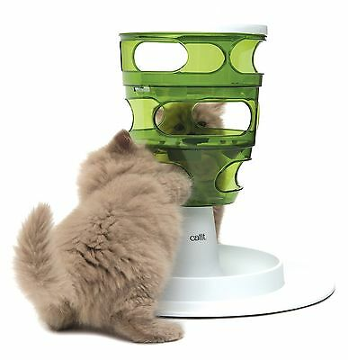 Catit Senses 2.0 Cat Feeder Feeding Food Interactive Storage Tree Toy