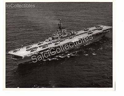 US Navy Ship Photograph USS CV-21 Boxer Official Photo 8x10