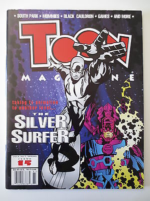 Toon Magazine #15 1998 Animation Silver Surfer Galactus South Park & More (M273)
