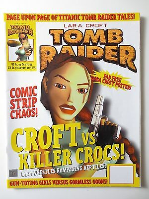Lara Croft Tomb Raider Titan Official Comics Magazine Vol. #4 2001 (PG249)