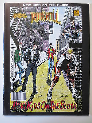 Rock n Roll Comics New Kids on the Block NKOTB #2 1990 Revolutionary (M299)