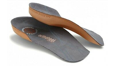 Orthaheel Pre-Owned Unisex 3/4 Length Medium Support Relief Insoles FREE SHIP