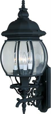 Maxim 1037BK Crown hill Outdoor Wall Sconces 11in