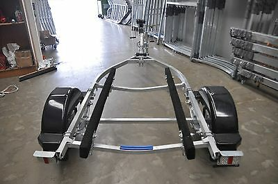 Sea-Trail jet-ski boat trailer.4 metres galvanised frame. 12 inch ford wheels