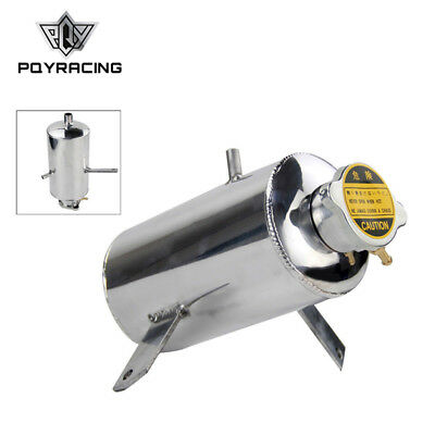 Universal 1.5L Alloy Aluminum Oil Water Catch Tank Resevoir Fuel Tank With Cap